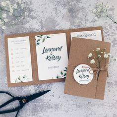 Excellent simple ideas for your inspiration Fun Wedding Invitations, Diy Invitations, Wedding Cards, Diy Wedding, Dream Wedding, Preparing For Marriage, Gift Wraping, Invitation Card Design, Wedding Planning