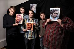 Valdimar - this 6-member indie pop band hail from Keflavik, producing lively and energetic music.  The band also includes a 3-4 people brass section.