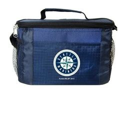 MLB 2014 6 Pack Cooler Lunch Tote (Seattle Mariners)