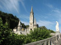 Basilica of the Immaculate Conception, Lourdes on Sacred Destinations http://www.sacred-destinations.com/france/lourdes-upper-basilica-immaculate-conception