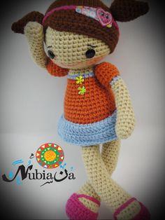 amigurumi Rozy doll