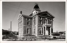 Old Tombstone AZ | Historic Old Court House Tombstone Arizona