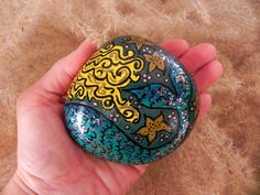 A Mermaid's Tale / Painted Rock /Sandi Pike by LoveFromCapeCod, $49.00