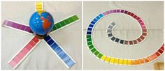 Montessori Sensorial Variations & Extensions II {Knobless Cylinders & Color Tablets}