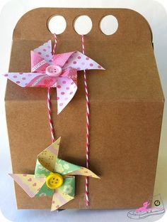 DIY: Cajas para chuches para los niños en una boda