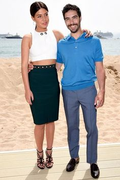 Adele Exarchopoulos and Tahar Rahim
