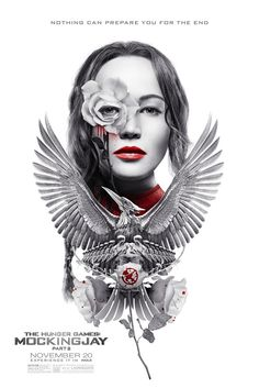 "Here's a Beautiful New ""Hunger Games: Mockingjay—Part 2"" Poster"