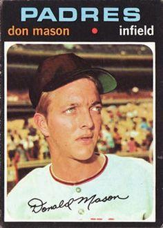 548 - Don Mason - San Diego Padres