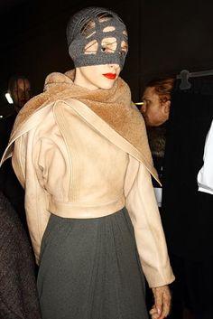 fabulous jacket...rick owens pfw fall 2012