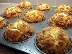 Pumpkin Cream Cheese Muffins. Fabulous for Thanksgiving morning!