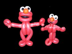 Elmo Two Ways by Mr. Boma's Balloons