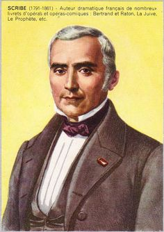 Eugène Scribe (1791-1861)