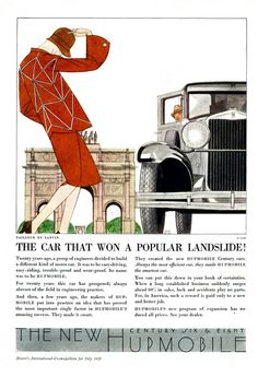 """""""The car that won a popular landslide!"""" The New Hupmobile Century. 1929"""