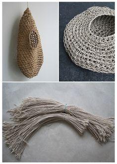 Korean traditional paper weaving technique