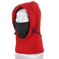 Polar Ex Fleece 6 in 1 Hood (RED) HOT. $13.99