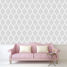 wallpaper, grey wallpaper, removable wallpaper, peel and stick wallpaper, wallpaper decal, adhesive wallpaper, grey pattern wallpaper