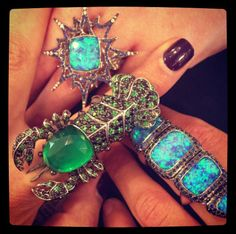 Gorgeous rings by Stephen Webster.