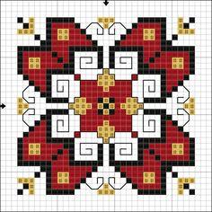 Creative Embroidery, Folk Embroidery, Cross Stitch Embroidery, Embroidery Patterns, Quilt Patterns, Cross Stitch Borders, Cross Stitch Charts, Cross Stitching, Cross Stitch Patterns