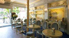 Dupont avec un thé. Ambiance café/restaurant. Décoration d'intérieure. Pause dessert. Pause café.