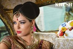 Traditional makeup look by Malika Jafrin   T: +44(0)7814 277 532  E: info@malikamakeupartist.com W: malikamakeupartist.co.uk  As seen in the Summer 2013 Issue of Khush Wedding Magazine