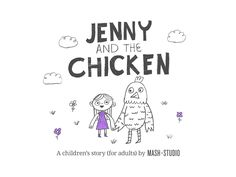 'Jenny and the Chicken' by Mash+Studio via Slideshare. Why your brand needs a content studio. * creative, I like it.