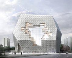 axel springer campus proposal by ole scheeren