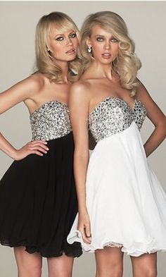 birthday dresses for my twin sister and i :) <3