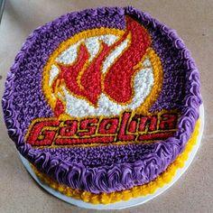 Gasolina urban cake.....