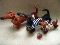 Авторские игрушки Татьяны Самотошиной