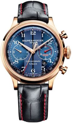 Baume et Mercier Watch Capeland Shelby Cobra Limited Edition More