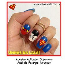 Adesivo Superman #unhas #unhasdalala #nail #nails #esmalte #amoesmalte #unhasfeitas #lindasunhas #adesivodeunha #adesivoartesanal #nailart #amonailart #artenasunhas #unhasdecoradas #unhasarrumadas #viciadasemesmalte #loucaporesmalte #manicure #lovenails #nailslove #lovenailart #nailpolish #superman #supermannails #heronails #unhassuperman #dc #dccomics #superhomem #esmalteazul #clarkkent #coloramafamosa #bluenails #unhasazuis #unhaazul #aneldefalange #knucklering www.unhasdalala.com.br