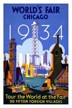 Worlds Fair Chicago 1934