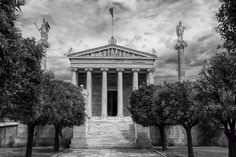 Timeless Education - Athens Academy Photo by Richard Freeman — National Geographic Your Shot National Geographic Images, Places In Greece, Your Shot, Athens, Amazing Photography, Shots, Community, Education, Educational Illustrations