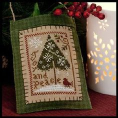 Little House Needleworks-Joy and Peace