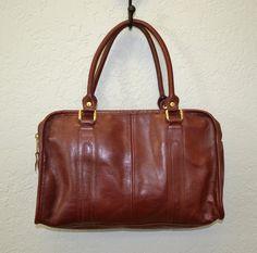Vintage leather handbag / oxblood red / 1970s by IngridIceland, $32.00