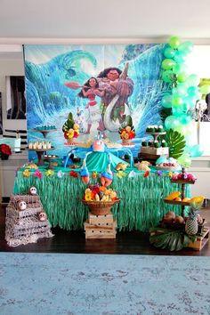 Moana Birthday Party on Kara's Party Ideas   KarasPartyIdeas.com (19)