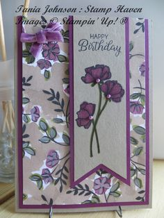 Share What You Love Banner Card  #sharewhatyoulove #stampinup