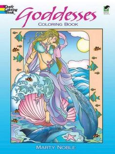 Goddesses Coloring Book (Dover Coloring Books) by Marty N...