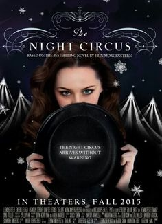 The night circus movie? If they do please don't screw the movie up and choose bad actors and actresses to play the lead roles!!!