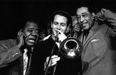 Louis Armstrong, Paul Newman and Duke Ellington@sugarpie project •