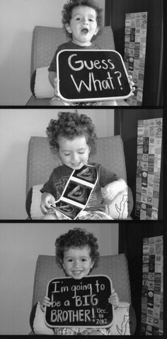 New baby announcement