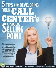 Here's how your #CallCenter can develop a unique selling point and help you stand out from the competition.