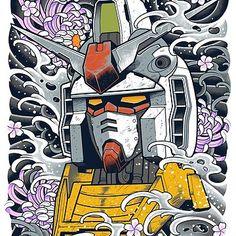 'Gundam' T-Shirt by Snapnfit Lisa Soberano, Arte Gundam, Gundam Wallpapers, Phoenix Art, Japanese Tattoo Designs, Nerd Art, Gunpla Custom, Mecha Anime, Anime Tattoos