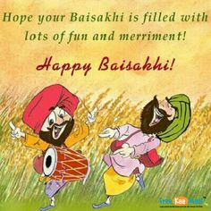 Wishing you a Baisakhi filled with Peace, Prosperity & Good Fortunes.