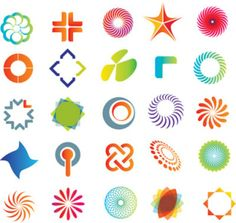 Vector Graphics | ... logo template vector graphics material | Download free Vector