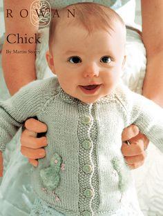 FREE Rowan Pattern: Chick by Martin Storey in Rowan Baby Merino Silk DK