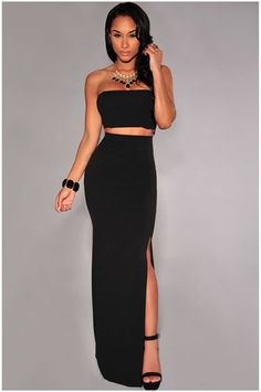 Image of CUTE FORK SKIRT AND TOP TWO PIECES Club Dresses e5d32b0f56ac