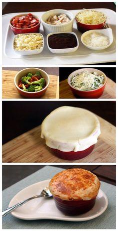 Pizza Pot Pie Recipe