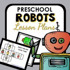 Over 10 robot activities kids will enjoy. Perfect for summer camps, a preschool robot theme or a kindergarten robot theme. Or just because!