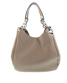 Women's Shoulder Bags - Michael Kors Womens Fulton Shoulder Tote Cement Large *** To view further for this item, visit the image link.
